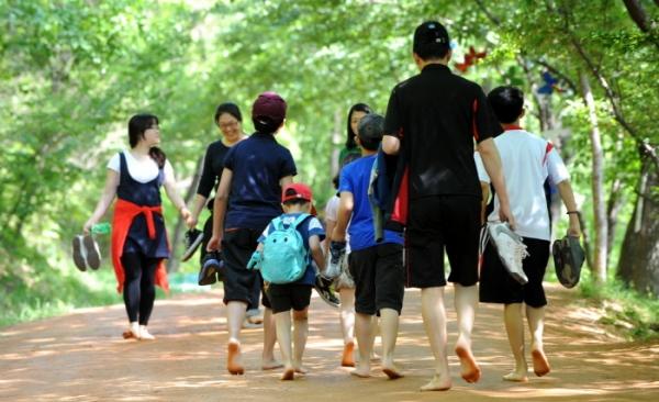 계족산 맨발축제. [사진=한국관광공사]